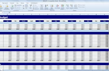 budget excel template personal budget template excel
