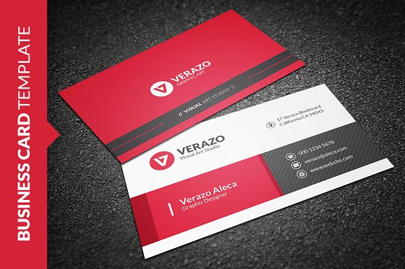 Stylish Business Card Template ~ Business Card Templates