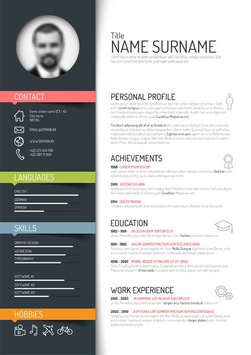 innovative resume templates download creative resume templates