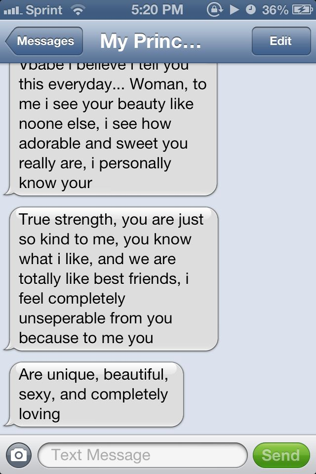 A cute text from him. | Things I love | Pinterest | Texts and