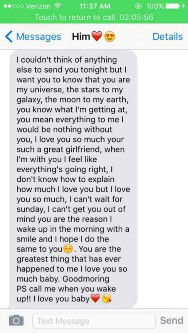 Cute boyfriend texts | Cute things | Pinterest | Boyfriend texts