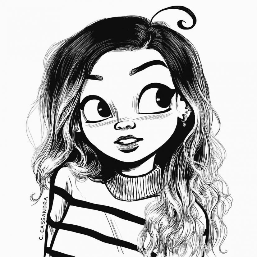 Easy Drawing For Girls at GetDrawings.| Free for personal use