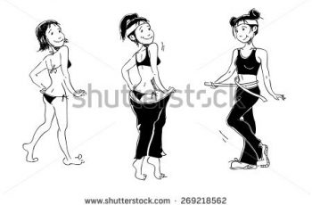 drawings of girls stock vector black and white vector drawings of girls sports figures