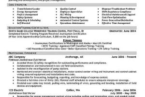 electrician resume electrician resume template resume example free