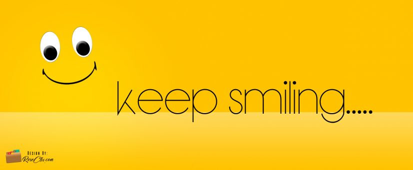 Keep Smiling Free Fb Cover Design Timeline
