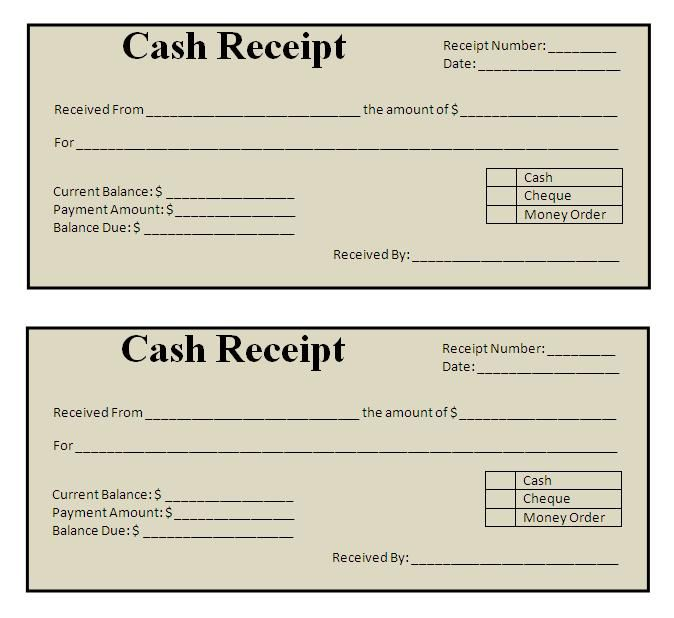 receipts free templates Kleo.beachfix.co