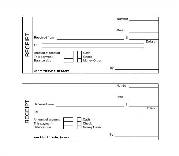 Free Receipt Template Pdf 4 – magnolian pc
