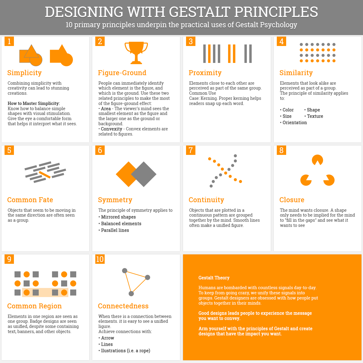 How to Use the Gestalt Principles for Visual Storytelling #PoDV