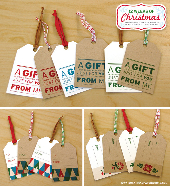Download Holiday Gift Tags From HGTV Magazine | HGTV
