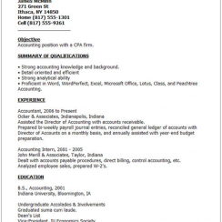 good resumes bad resume example