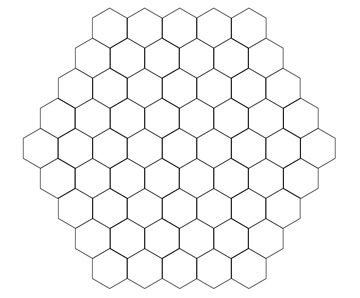 hex grid pattern Kleo.beachfix.co