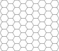 Shapes that tessellate hexagonal grid