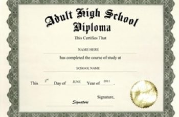 high school diploma template adult high school diploma free template image m