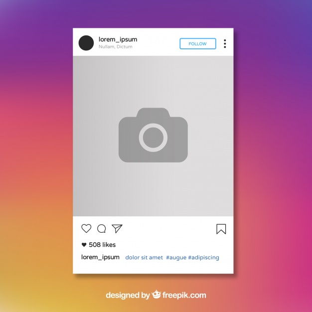 Instagram post template Vector | Free Download