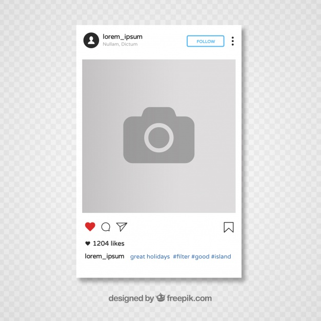 Instagram Template for Students | CovaisTech