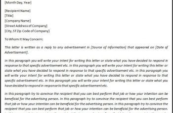 letter of intent example letter of intent sample how to write a letter of intent