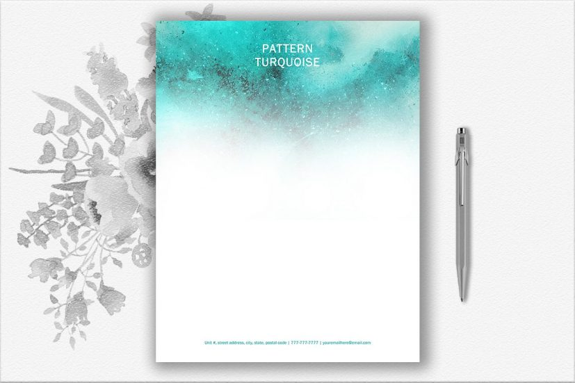 Letterhead Design Template by DocumentF | Design Bundles