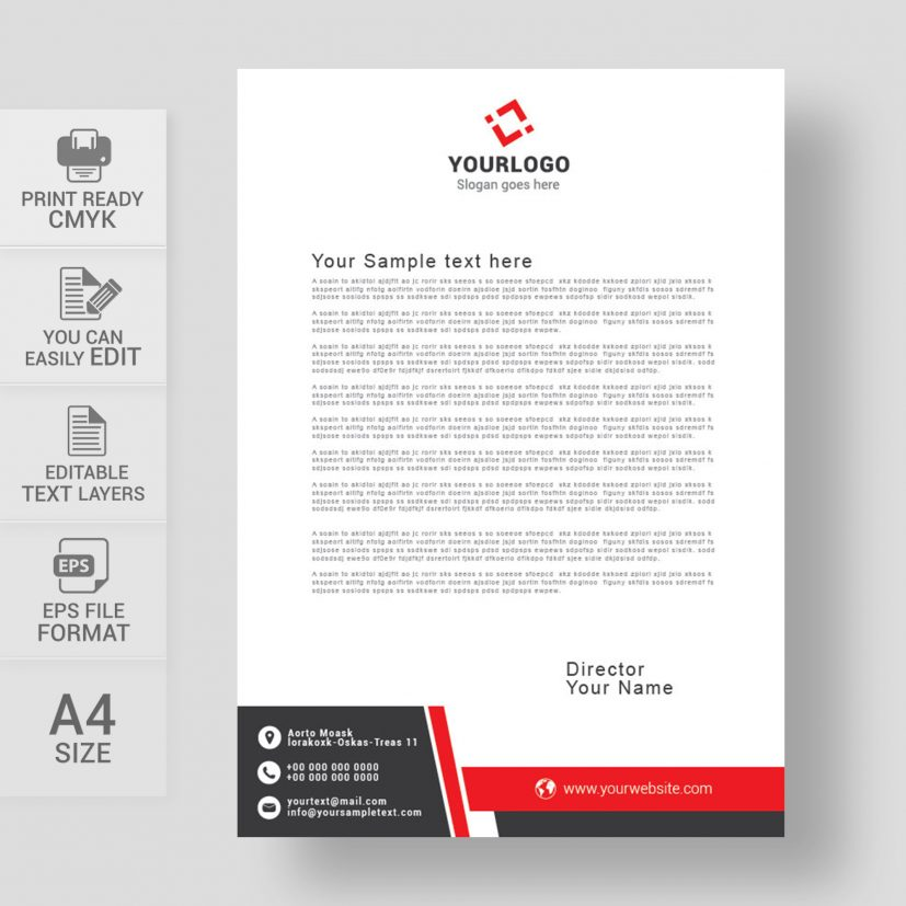 Letterhead Design Images, Stock Photos & Vectors | Shutterstock