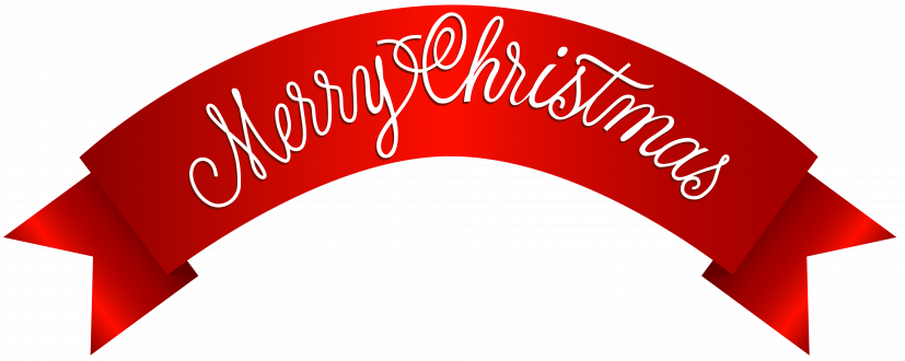 Merry Christmas Banner PNG Clip Art Image​ | Gallery Yopriceville