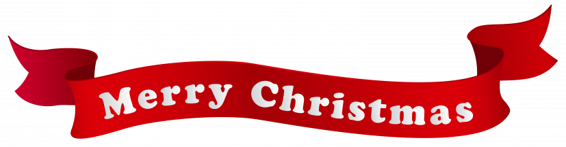 Merry Christmas Banner PNG Clipart Image​ | Gallery Yopriceville
