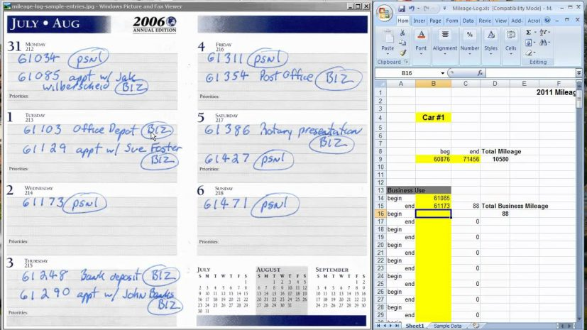 The easiest way to keep a mileage log for tax deductions YouTube
