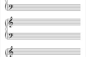music paper blank music paper template