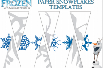 paper snowflake templates disney frozen printable coloring sheets