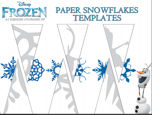 Free Download: 40+ Paper Snowflake Templates | Curbly