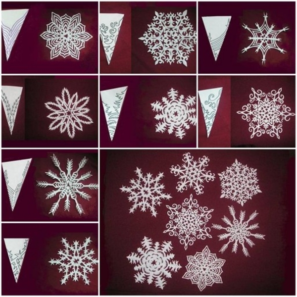 Paper Snowflake Patterns | Printable Templates & Coloring Pages