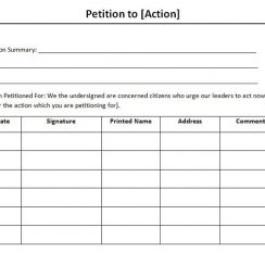 petition template petition template