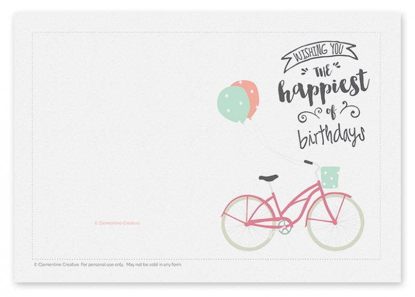 birthday card printables printable birthday cards with photo