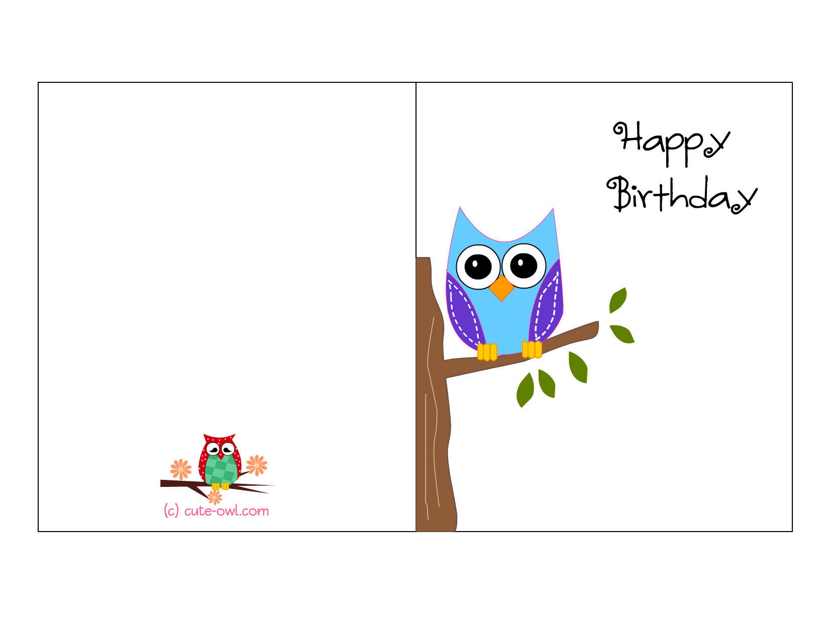 printable birthday card templates Kleo.beachfix.co
