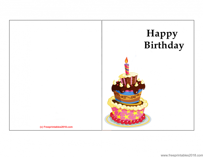 Printable Birthday Cards | Free Printables 2018