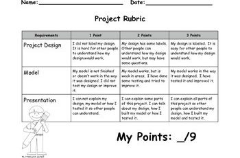 project rubric original