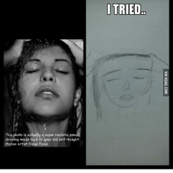 realistic drawings this photo is actually a super realistic pencil drawing made
