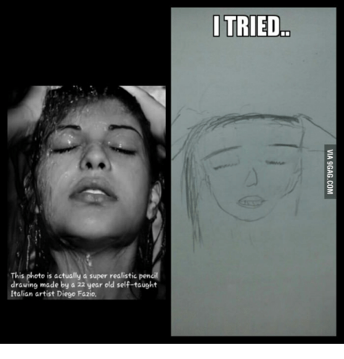 This Photo Is Actually a Super Realistic Pencil Drawing Made by a