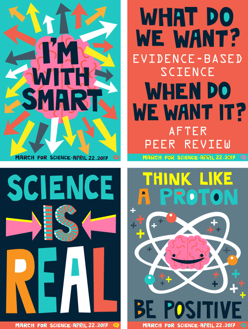 March for Science Posters Are Here! |