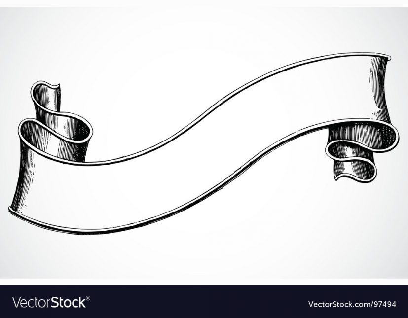 Scroll banner Royalty Free Vector Image VectorStock