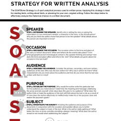 soapstone english soapstone writing strategy