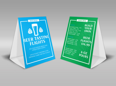 table tents template types by carrensoriano.deviantart.on
