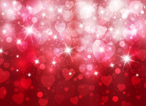 Heart valentines background free vector download (49,190 Free