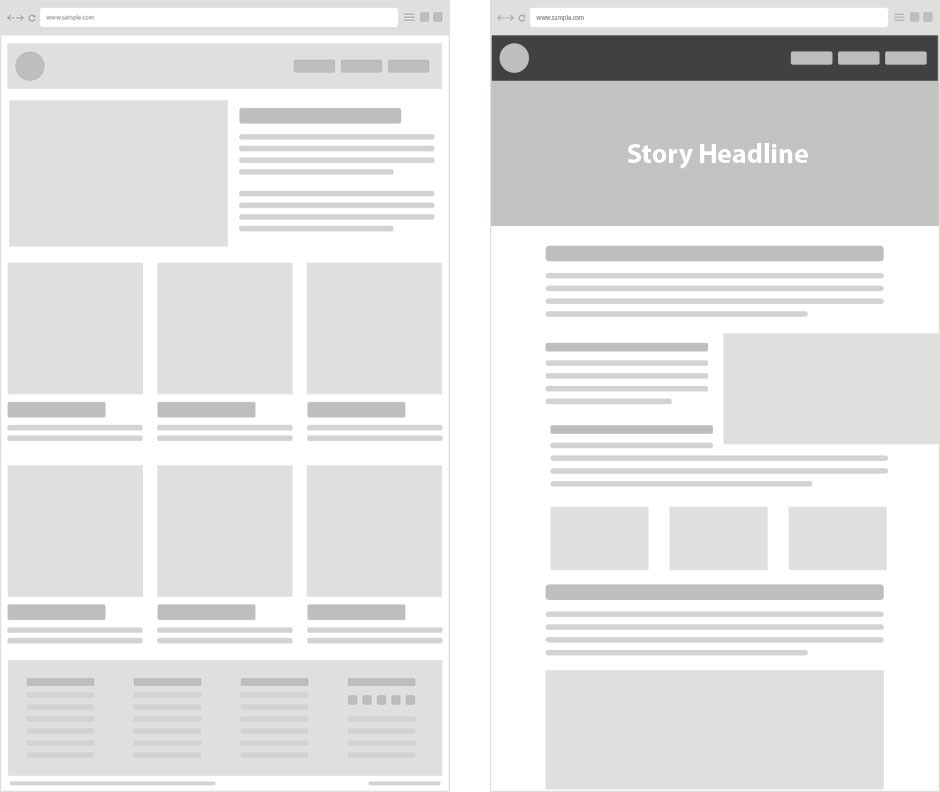 So what are Boxed, and Wide/Stretched website layouts? Infoginx |