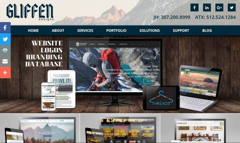 Choosing a Website Layout Gliffen Designs