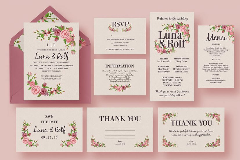 5 Free Wedding Invitation Samples The American Wedding