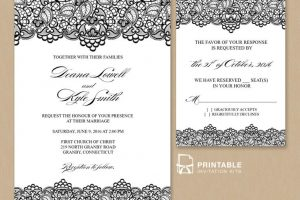 wedding invitation samples wedding invitation templates to inspire you how to make the wedding look comely