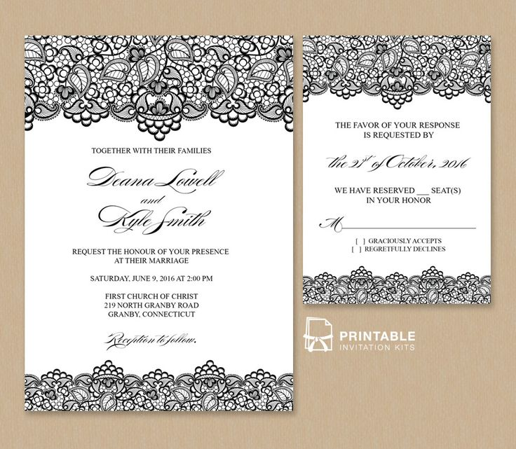 Wedding Invitation Samples kinderhooktap.com