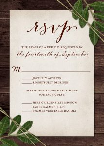 Wedding invites rsvp wedding rsvp cards match your color style