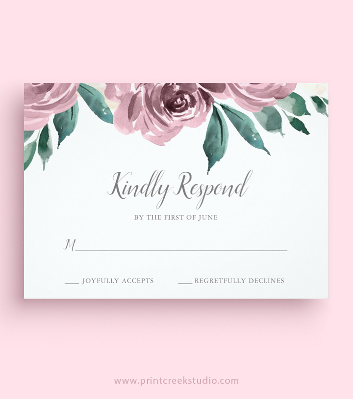 Wedding RSVP Wording | MagnetStreet Weddings